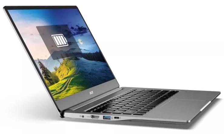 Notebook značky Acer