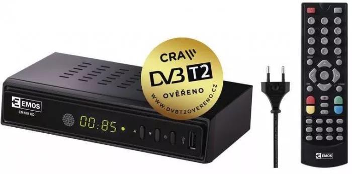 Set-top-boxy podporující DVB-T2