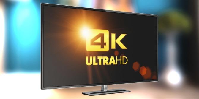 4K televize