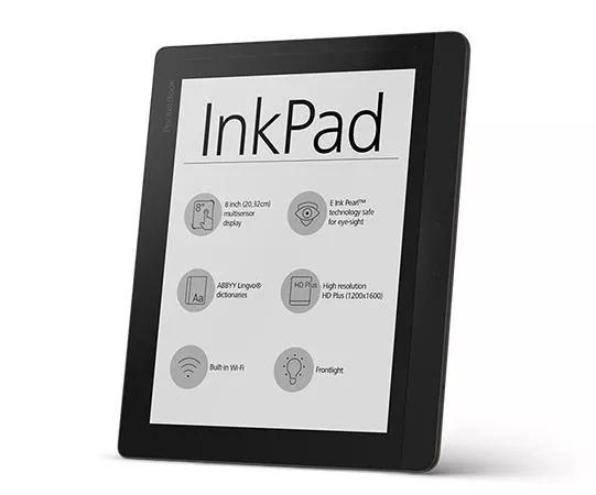 Čtečka knih značky PocketBook