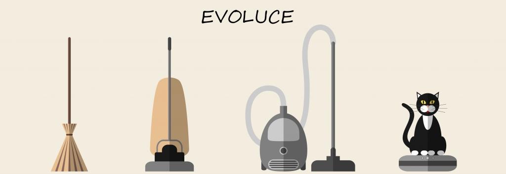 Evoluce vysavače