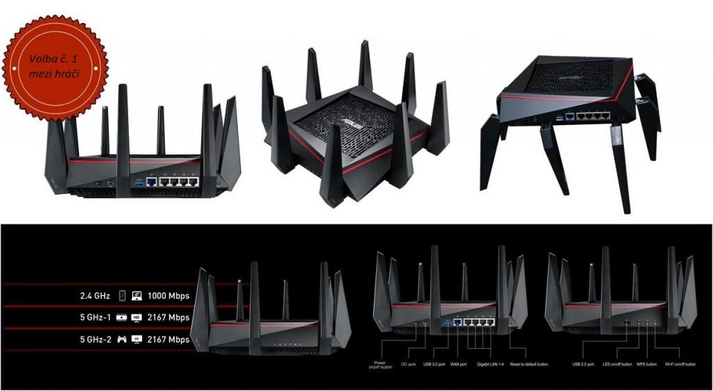 Router od Asusu