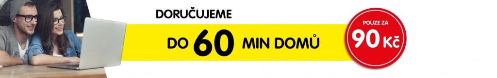 Nová služba doručení do 60 minut