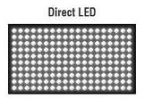Podsvícení Direct LED