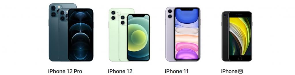 Modelový rad iPhone 12