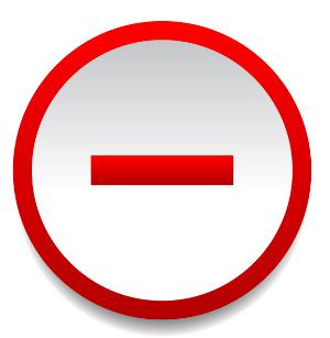 Symbol minus