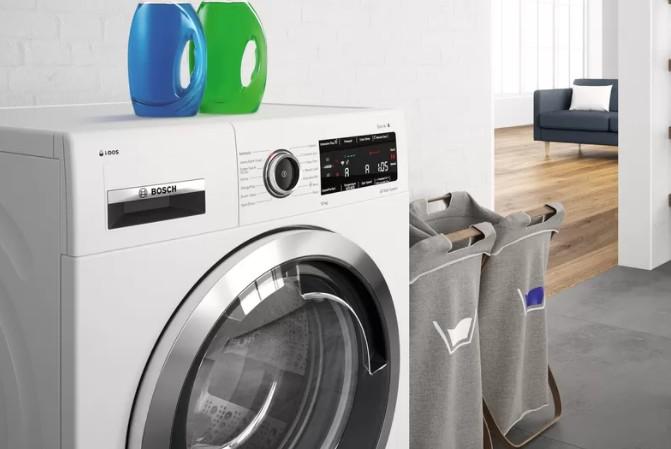 Chytrá pračka s předním plněním Bosch WAX32EH0BY