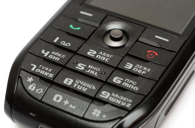 Tlačidlový telefón