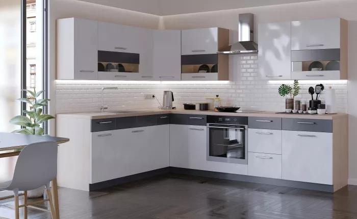 Stylová kuchyně Marina 285x210cm