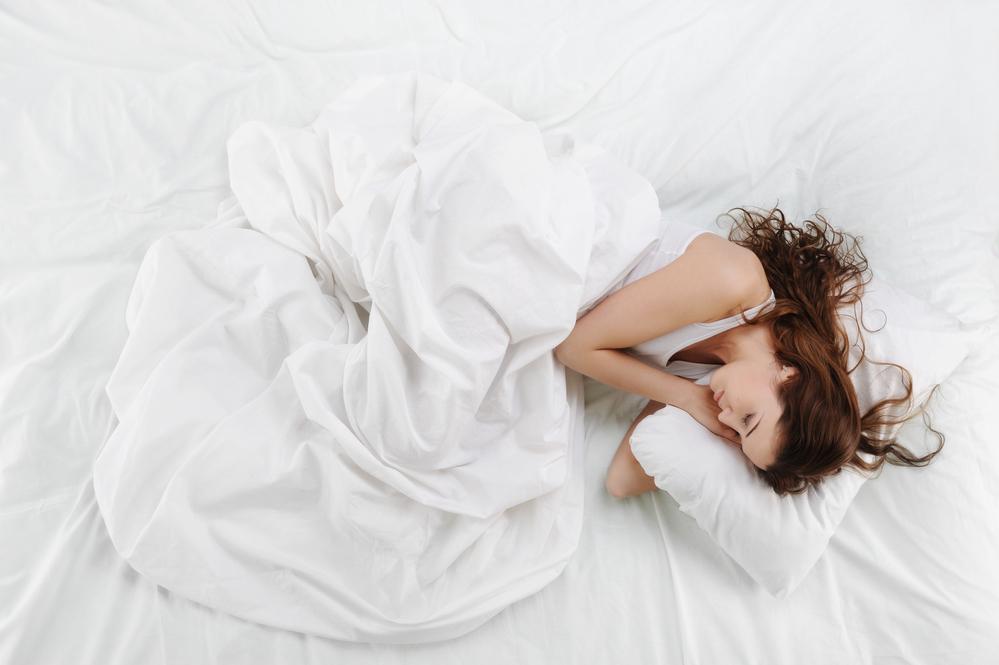 Polohy vhodné pro spaní