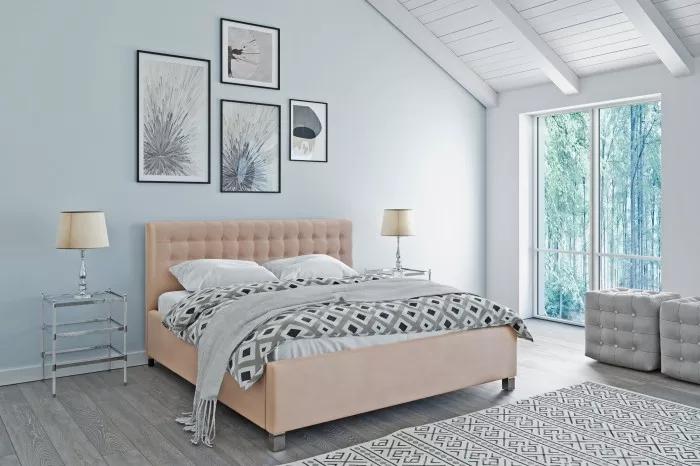 Čalouněná postel Monte Negro 180x200