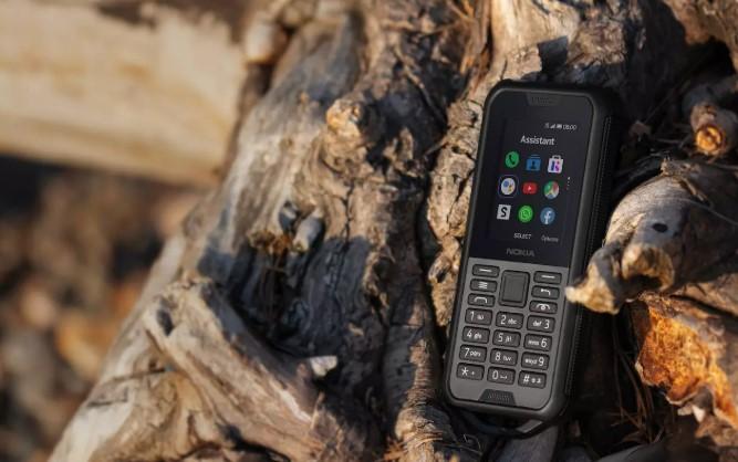 Odolný mobil Nokia 800 4G DS