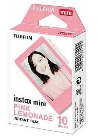 Fotopapír pro Instax Mini, 10ks, růžová