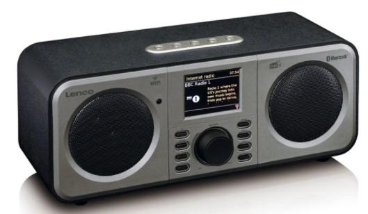 Internetové rádio Lenco DIR-140BK