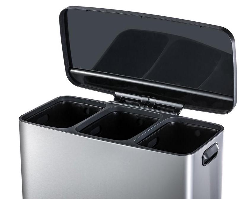 TORO 270492 Odpadkový koš se senzorem na třídění odpad,45l,nerez