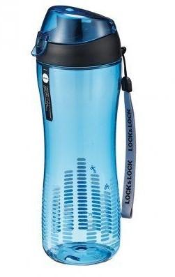 LOC&LOC ABF638B Sportovní láhev na pití,550ml,modrá