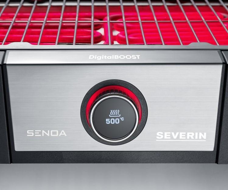 Stolní gril Severin SENOA DIGITAL BOOST PG 8114, 3000W