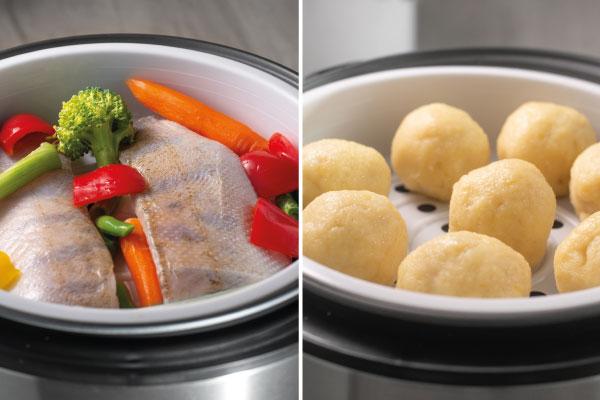 Alternatívne použitie ryžovaru na prípravu dusenej zeleniny či parených buchiet