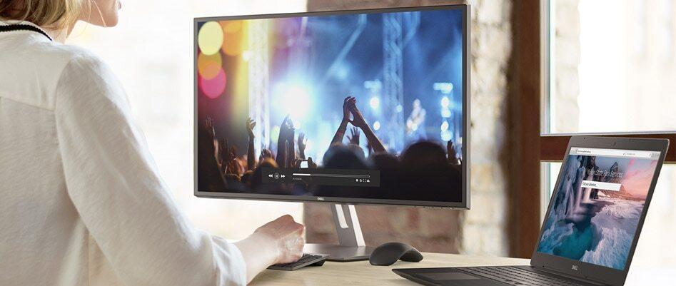 """Monitor Dell S2719H, 27"""", LED, IPS, 5ms, černá"""