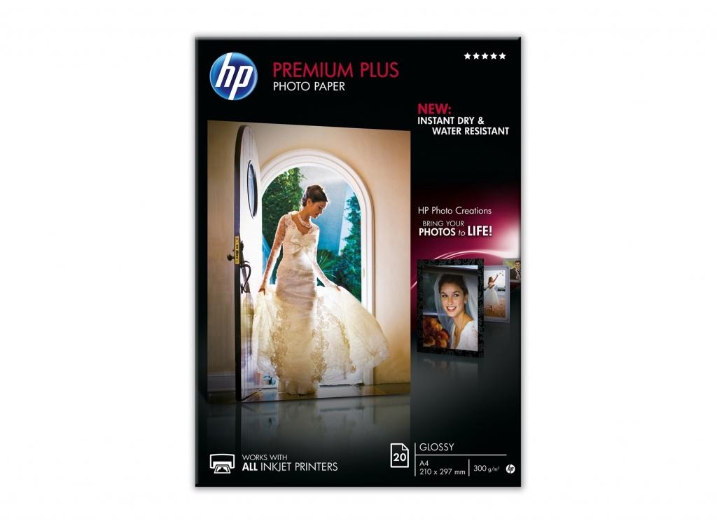 HP CR672A Fotografický papír,lesklý,A4,300 g/m2,20 ks,inkoustový