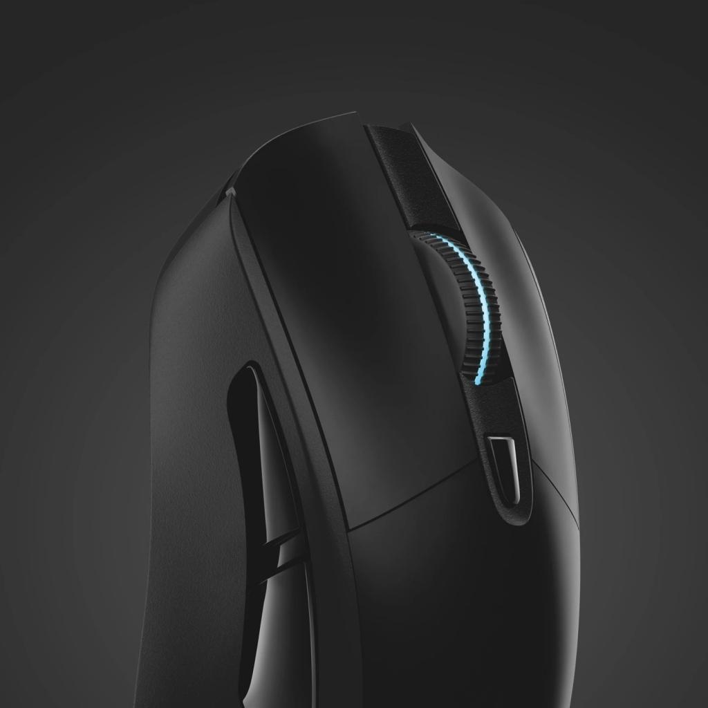 Herní myš Logitech G703 LIGHTSPEED , bezdrátová, černá