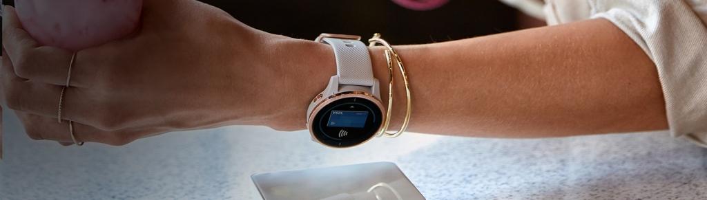 Chytré hodinky Garmin Venu, černá/černý řemínek