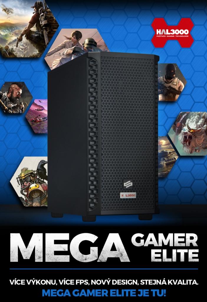 Herní PC HAL3000 MEGA Gamer Elite /i7/16GB/RTX2060/1TBSSD/W10
