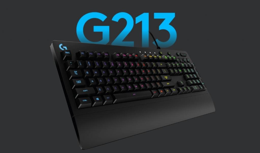 Herní klávesnice Logitech G213 Prodigy, US layout, černá