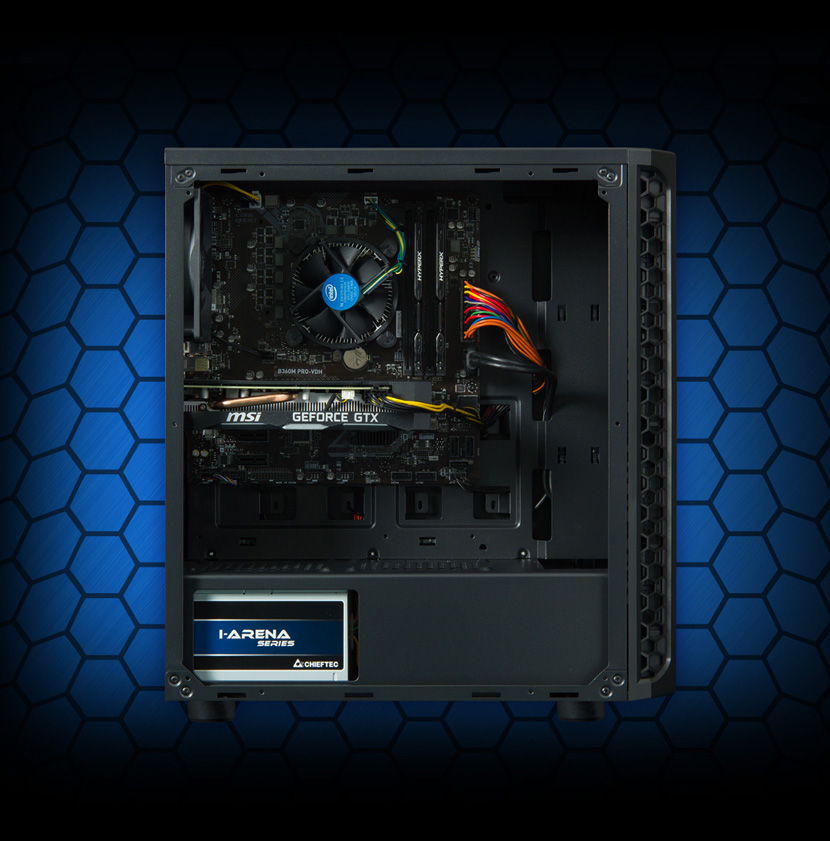 HAL3000 Alfa Gamer Pro /i5/16GB/GTX1660/480SSD+1TBHDD/W10