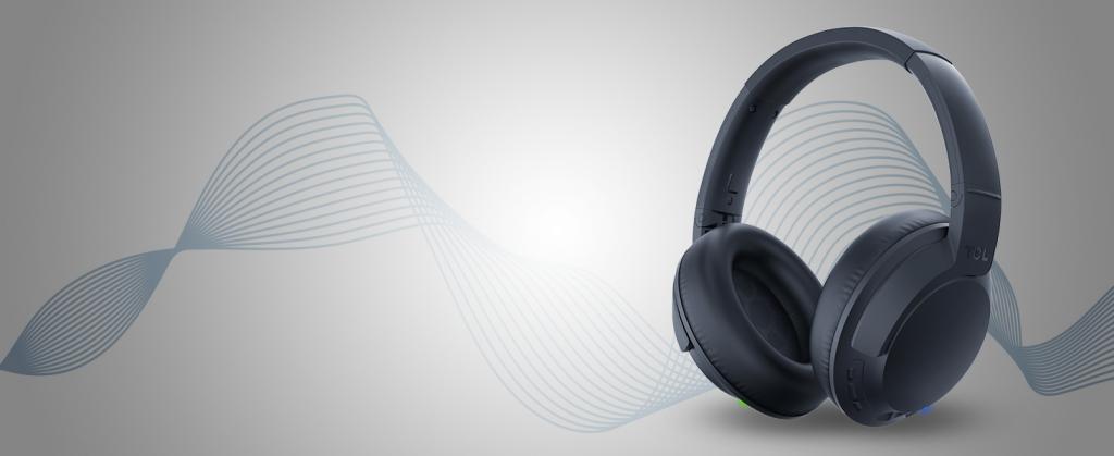 TCL ELIT400BTBL BT sluchátka náhlavní, mikrofon, BT 5.0, modrá