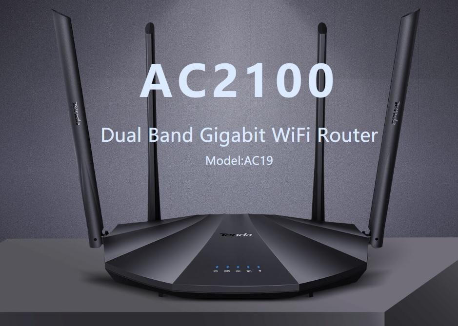 Tenda AC19 - Wireless AC Dual Band Router 802.11