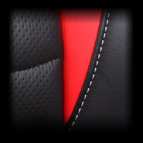 Dětské herní křeslo Red Fighter C5, černo-červené