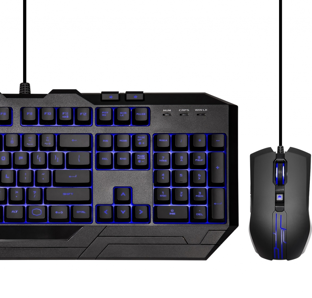 Set Cooler Master Devastator III, CZ, klávesnice+myš