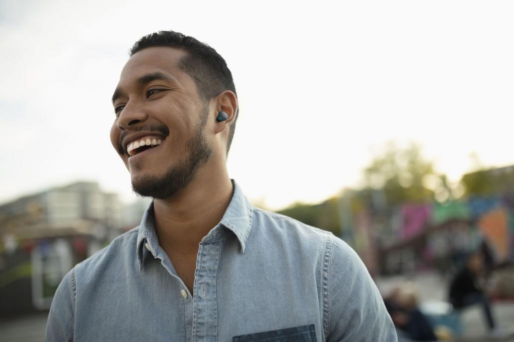 Cellularline TWS sluchátka Evade, dobíjecí pouzdro