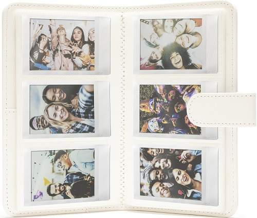 Fotoalbum pro fotoaparát Instax Mini, bílé