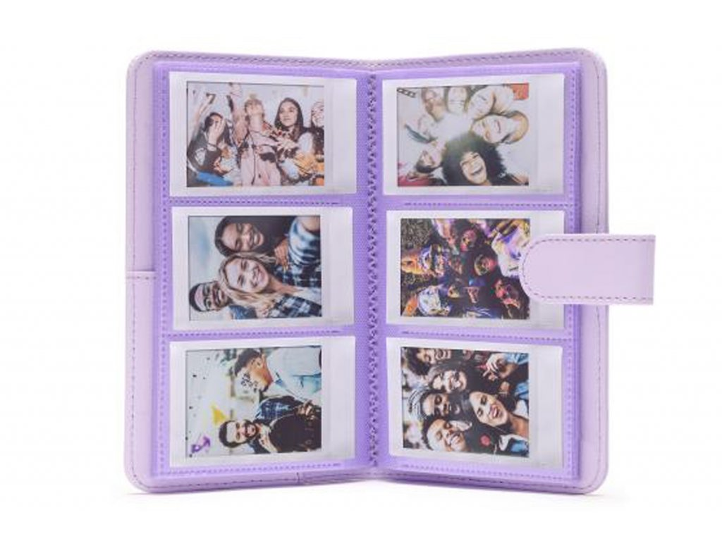 Fotoalbum pro fotoaparát Instax Mini, fialové