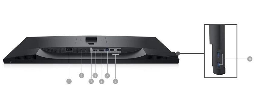 "Monitor Dell Professional P2720D, 27"", WQHD, 8 ms"
