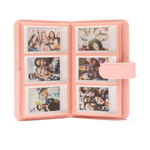 Fotoalbum pro fotoaparát Instax Mini, růžové