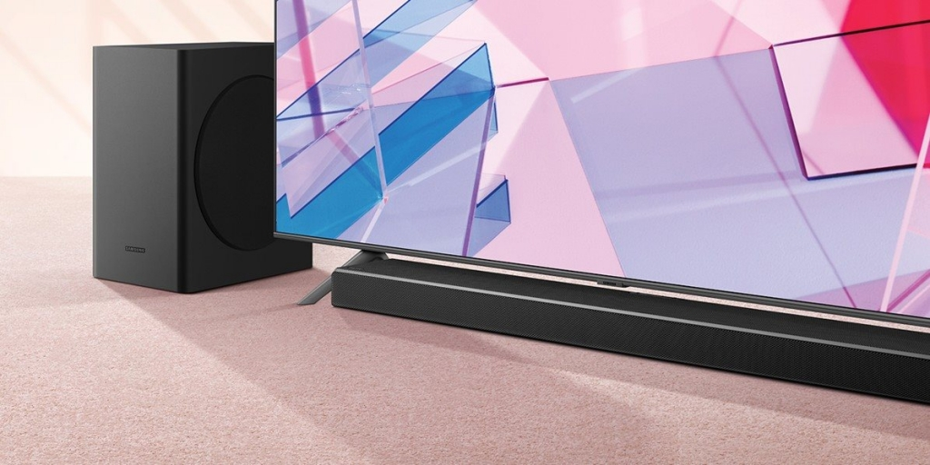 Soundbar Samsung HW-Q60T/EN 360W 5.1Ch 9 repro akustika