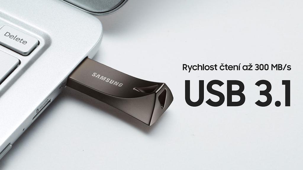Samsung USB 3.1 Flash Disk 64 GB – titan grey