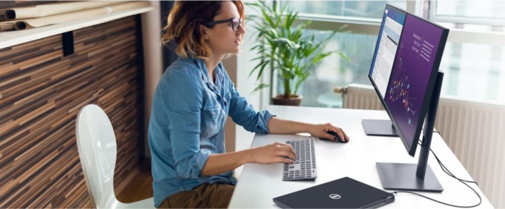 "Monitor Dell Professional P2720DC, 27"", WQHD, 8ms, USB-C"