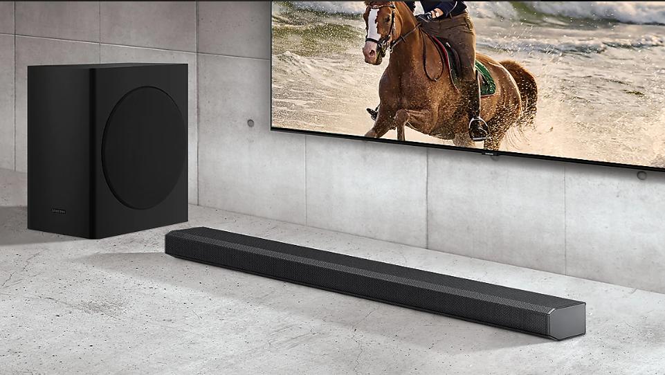 Soundbar Samsung HW-Q70T/EN Dolby Atmos 330 W 3.1.2Ch 8