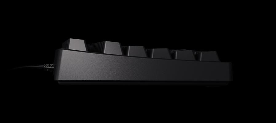 Herní klávesnice Xtrfy RGB K4, US layout, podsvícená, černá