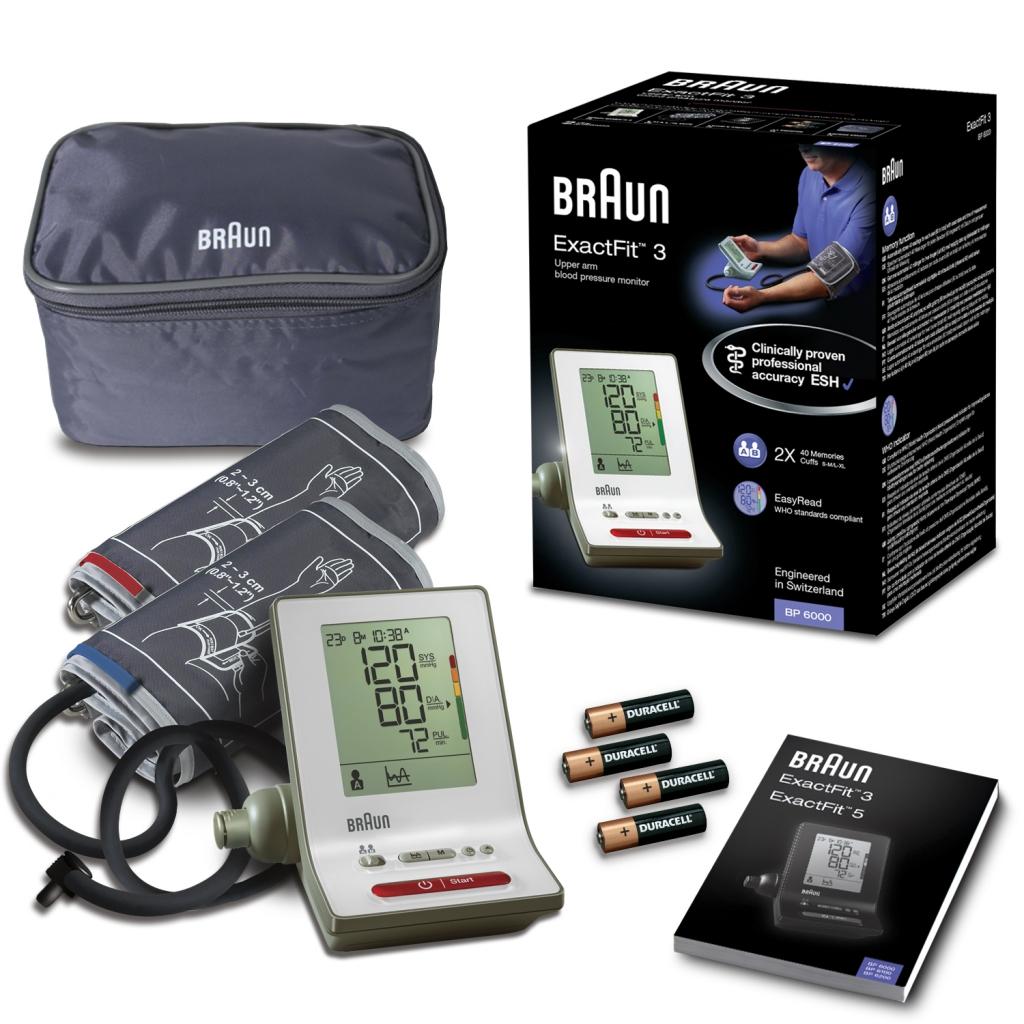 Tlakomer Braun BP 6000 ExactFit 3