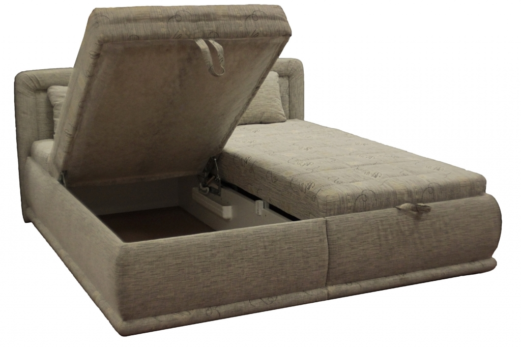 Manželská posteľ s úložným priestorom Harmonie