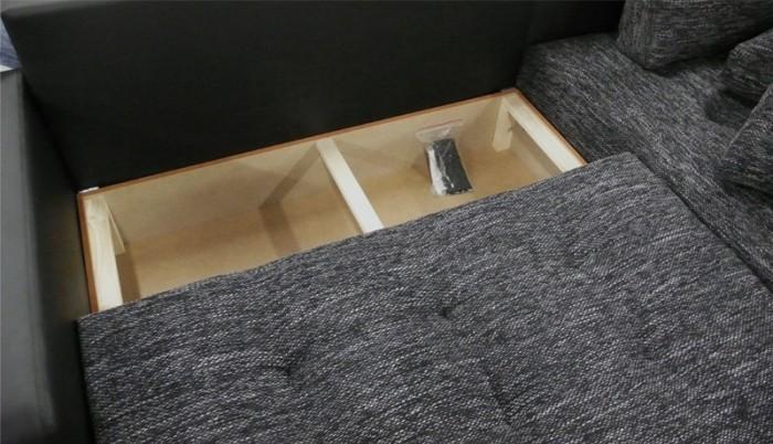 Rohová sedačka Enro - úložný priestor