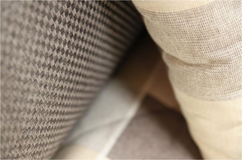 Čalouněná postel George - detail látky