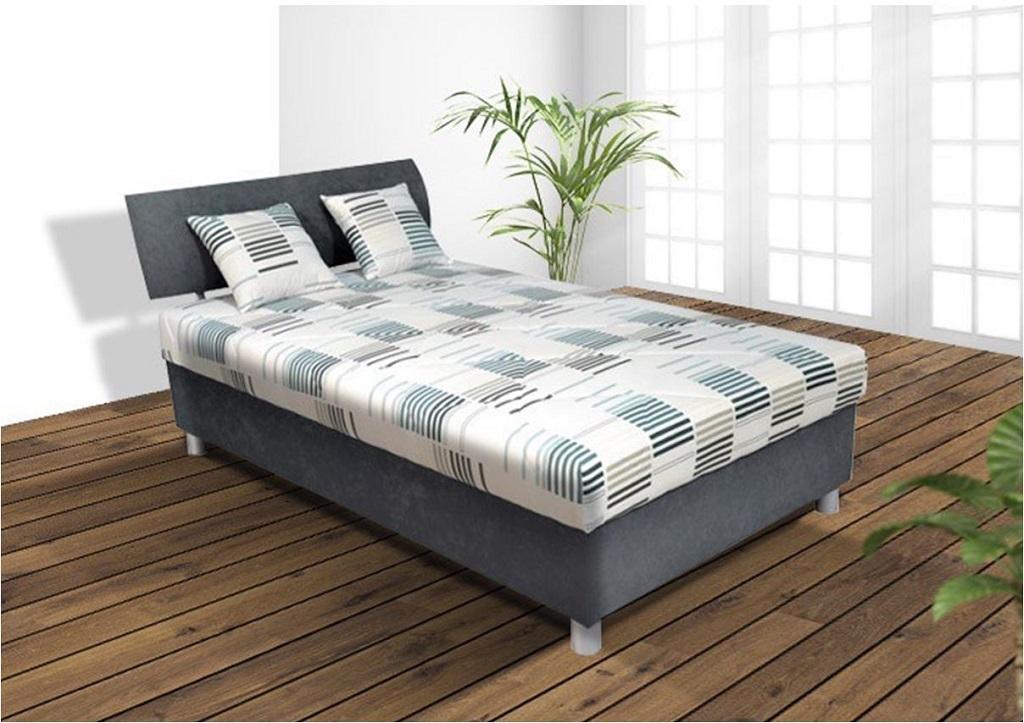 Čalouněná postel George v interiéru