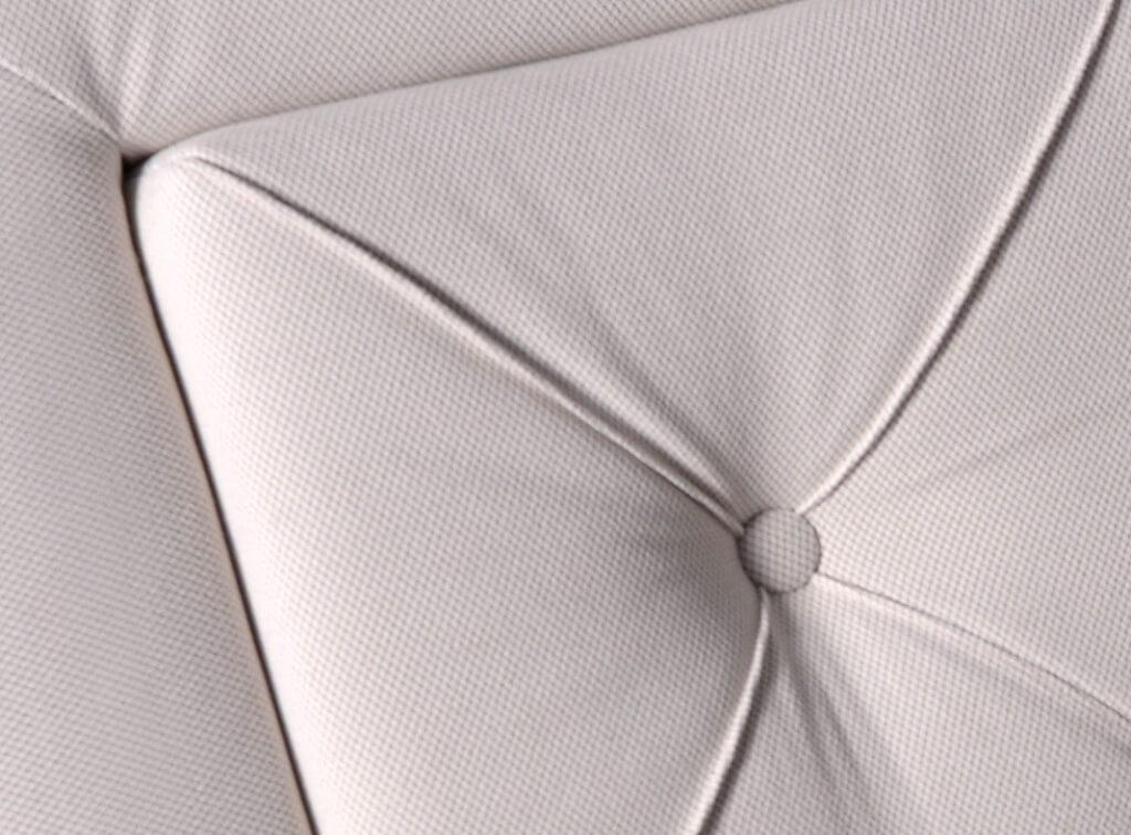 Čalouněná postel Elizabeth - detail potahové látky