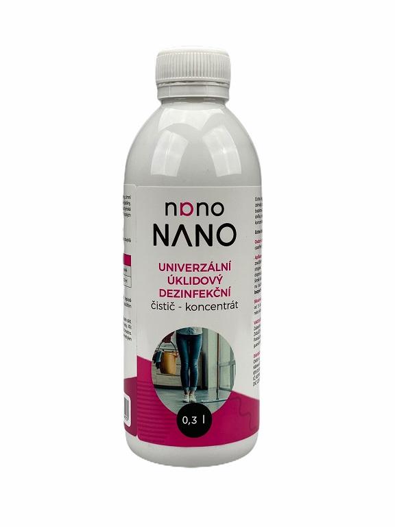 Nano univerzální úklidový dezinfekční čistič - koncentrát